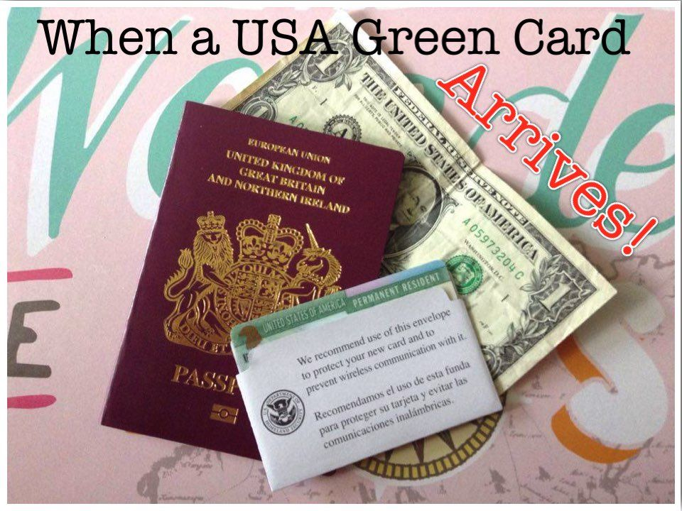It S Official My Usa Green Card Has Arrived Green Cards Cards