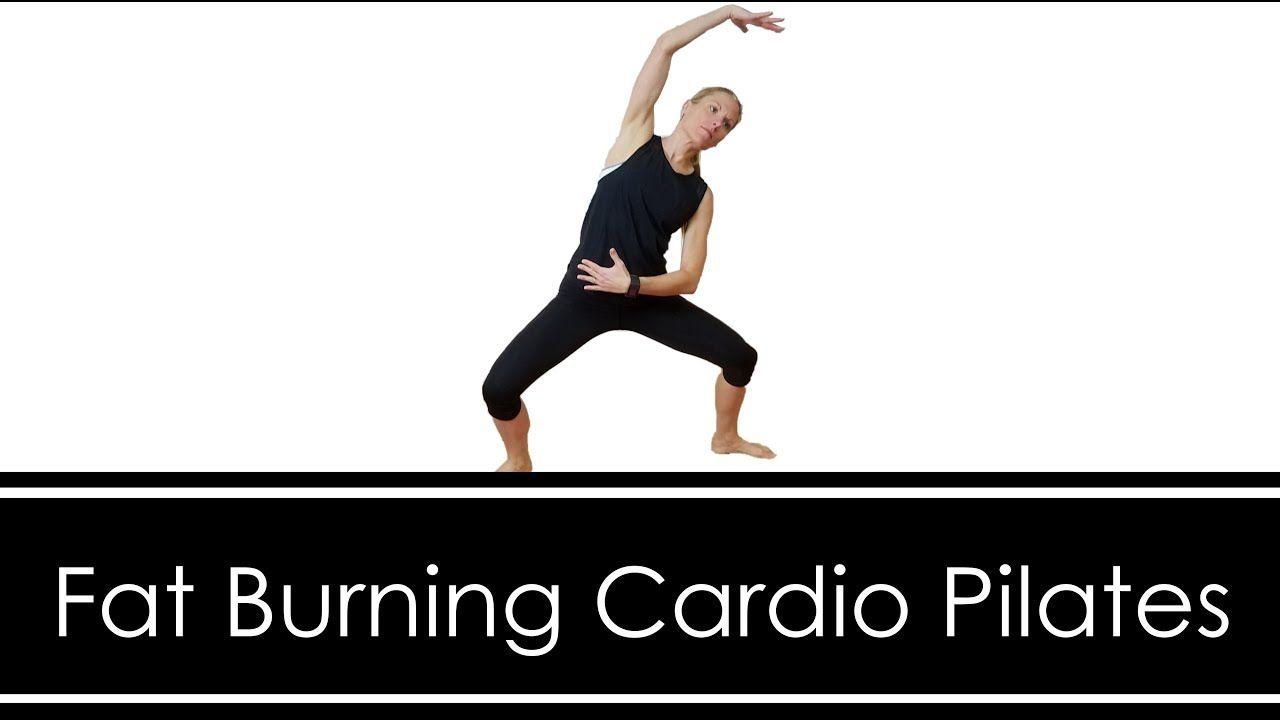 FAT BURNING CARDIO PILATES WORKOUT: STANDING & MAT #cardiopilates