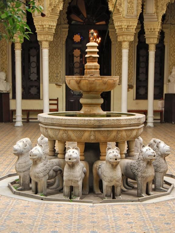 Image result for Fountain From The Alhambra In Granada