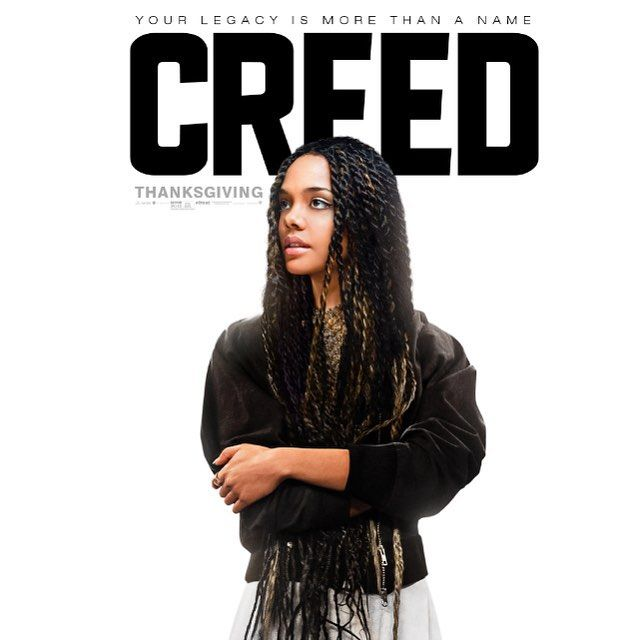 Pinching myself. #CREED comes out the 25th of this month.  lots to be thankful for. @creedmovie @wbpictures