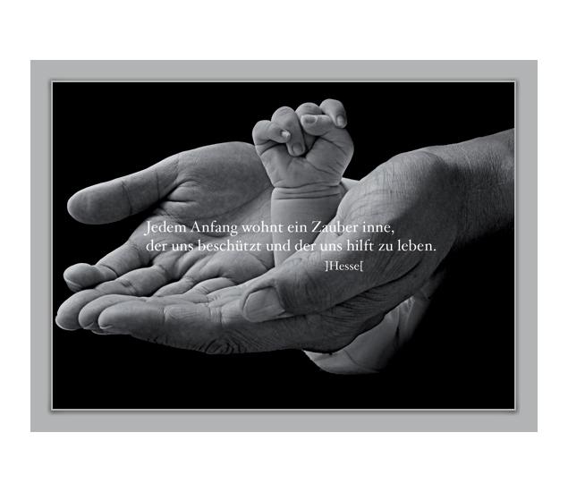 Tolle Grußkarte: Jedem Anfang wohnt ein Zauber inne.. - http://www.1agrusskarten.de/shop/jedem-anfang-wohnt-ein-zauber-inne/    00009_0_1593, Baby, Design, Foto, Fotokunst, Geburt, Glückwunschkarten, Grußkarte, Klappkarte, Taufe00009_0_1593, Baby, Design, Foto, Fotokunst, Geburt, Glückwunschkarten, Grußkarte, Klappkarte, Taufe