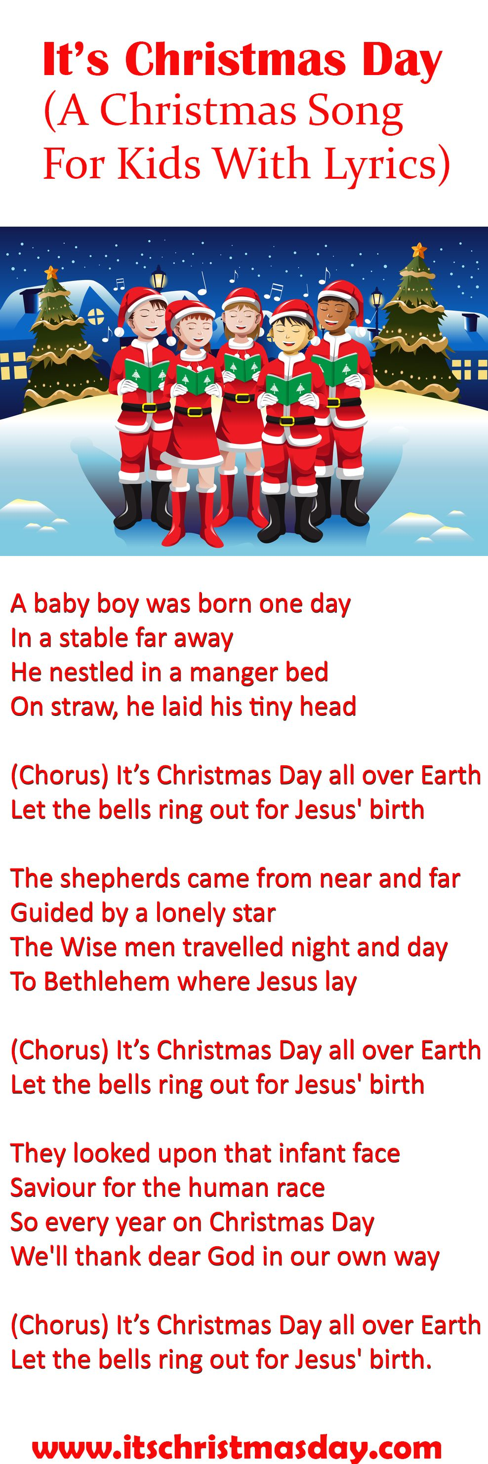 Performed by children\'s choirs worldwide, It\'s Christmas Day is a ...