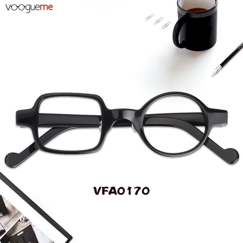 16be6de2ce Eleanor Asymmetric Black Eyeglasses A pair of soft and fabulous eyeglasses.  With lovely black color