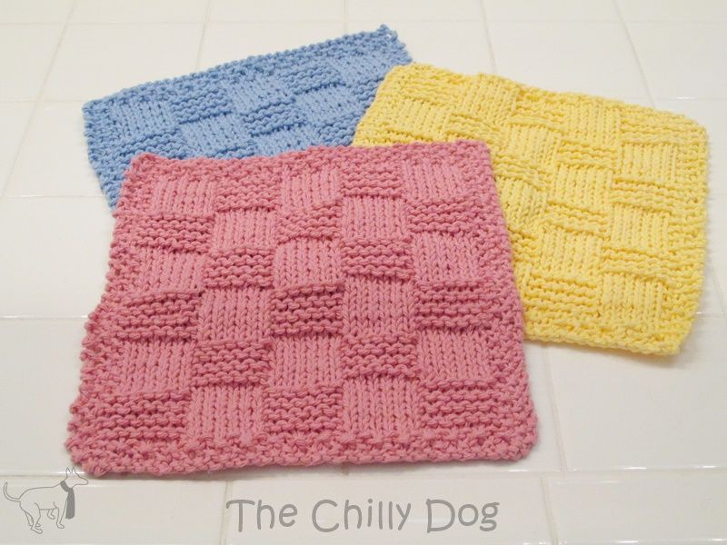Knit pattern easy checkered washcloth free pattern knit patterns knit pattern easy checkered washcloth dt1010fo