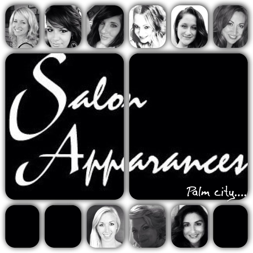 Just some of the most fabulously talented chicks!!! Salon appearances palm city! 781-9744