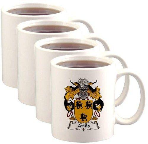 Arino Coat of Arms / Family Crest Mugs