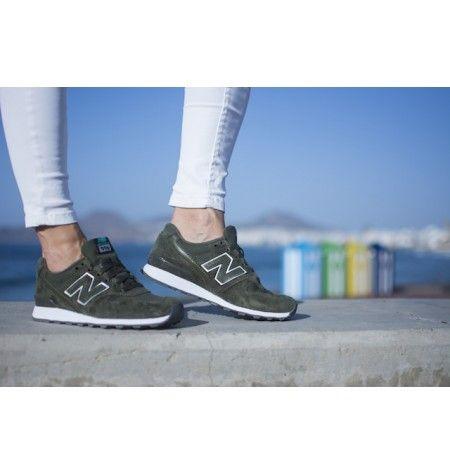 brand new 80cea 6b6de Zapatillas New Balance 996 para mujer color khaki