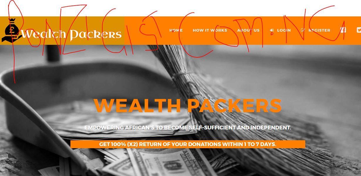 Wealthpackers login get 100 returns of your money the