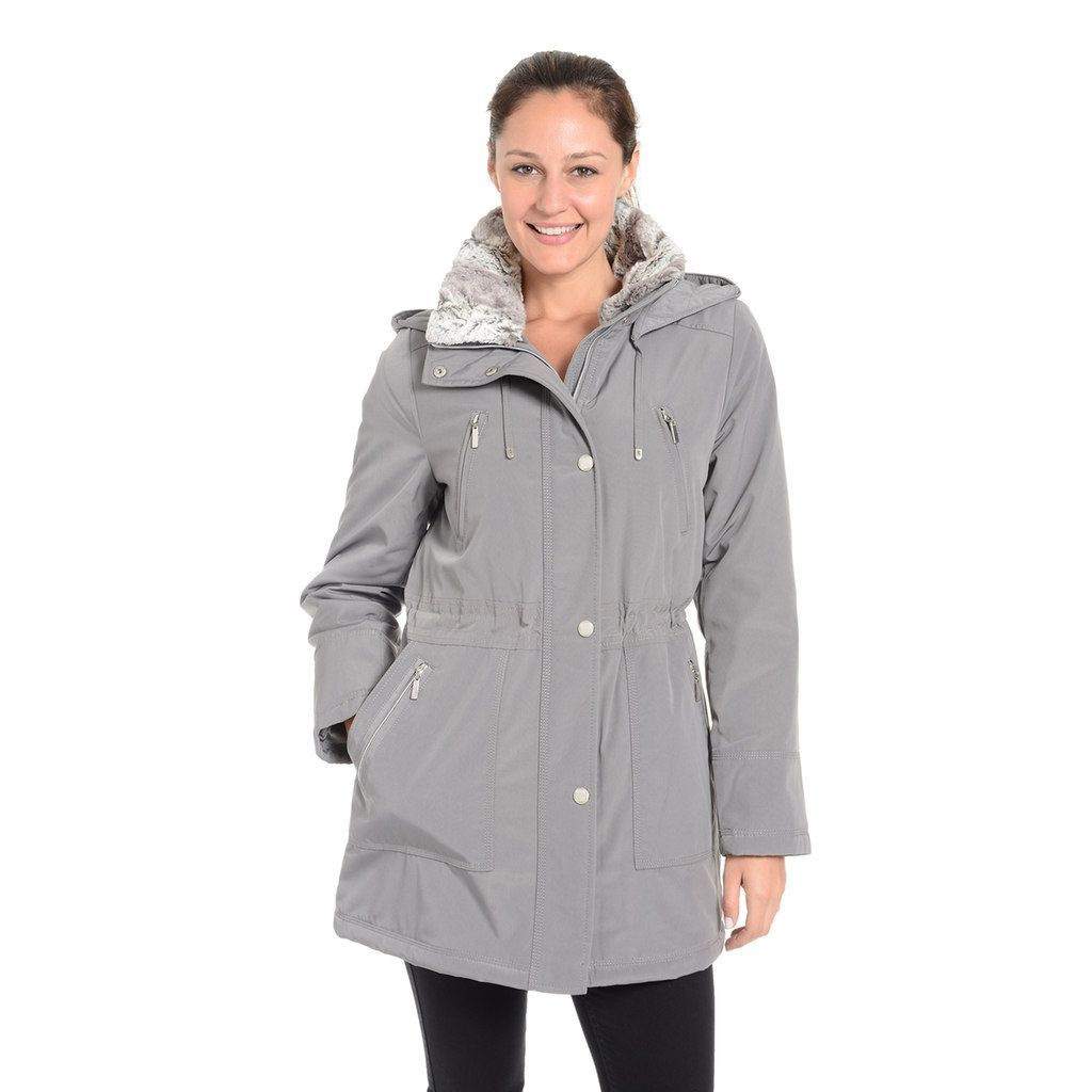 2ea60c69565 Women s Fleet Street Faux-Fur-Trimmed Anorak Jacket
