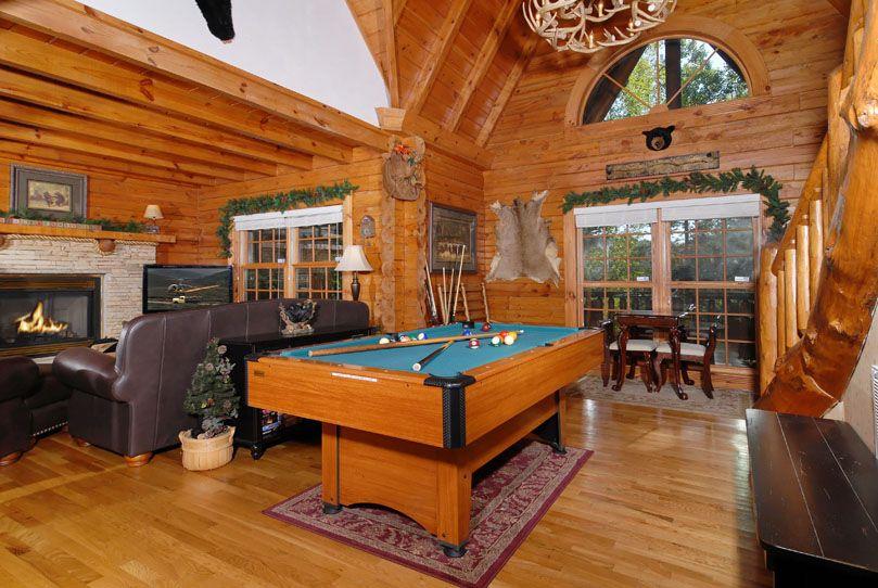 Black Bearry Hill 3 Bedroom Cabin Rental Great Rooms Cabin