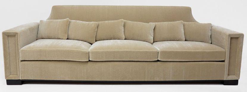 andr arbus rare et important canap 1955 la profonde. Black Bedroom Furniture Sets. Home Design Ideas
