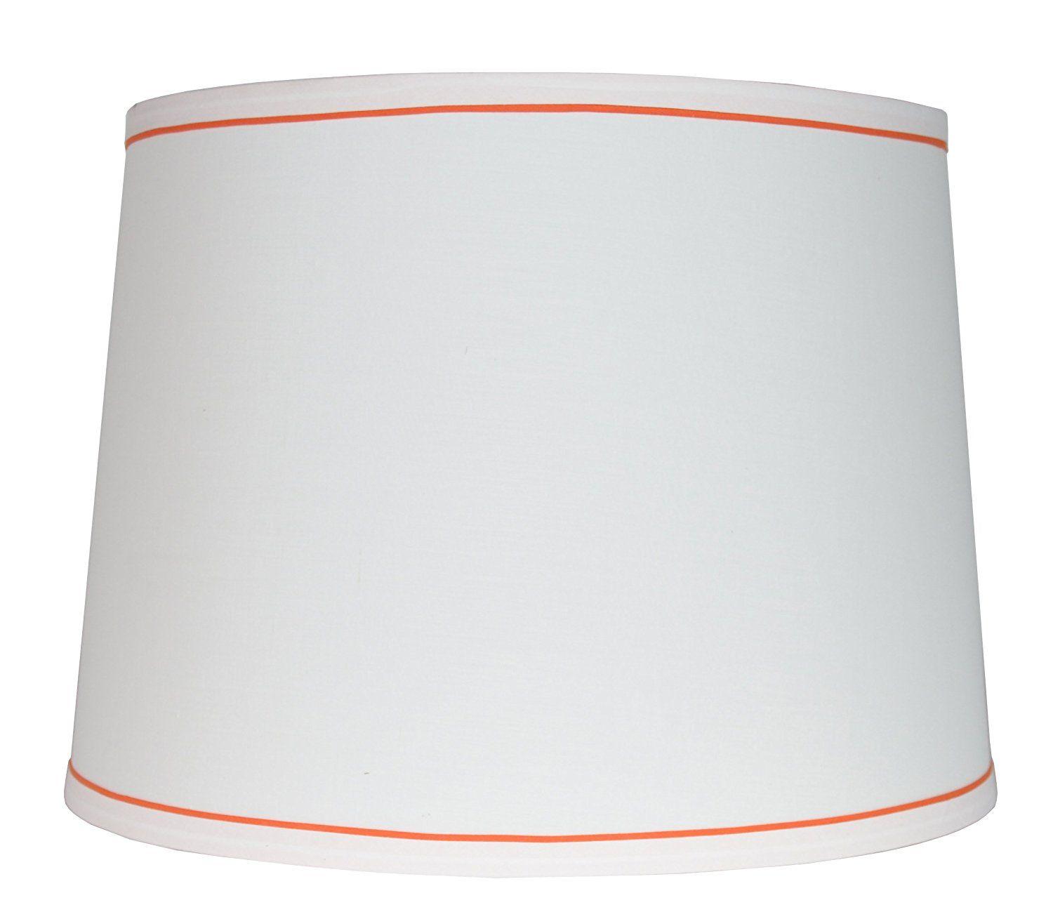 Urbanest White With Trim French Drum Lampshade 12 Inch By 14 Inch By 10 Inch Orange Spider You Can Get Additional Details Drum Lampshade Lamp Shade Lamp