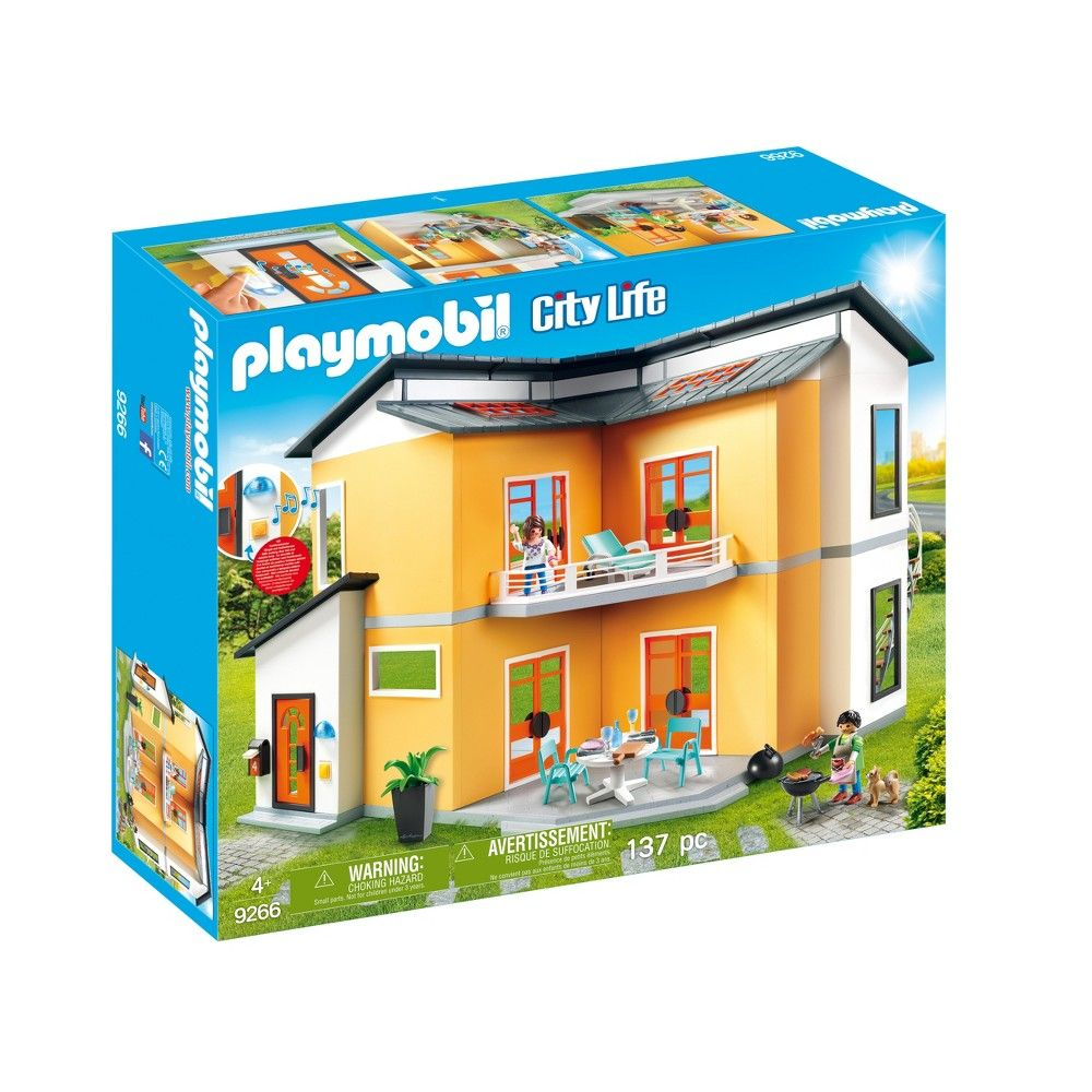 Playmobil Modern House Multi Colored Modern House Building A House Playmobil