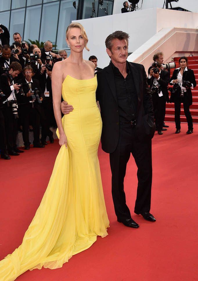 Charlize Theron and Sean Penn at Cannes premiere of Mad Max: Fury Road|Lainey Gossip Entertainment Update