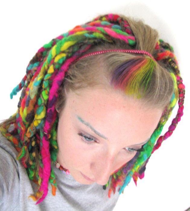 vixensingsblack Full yarn hair extensions