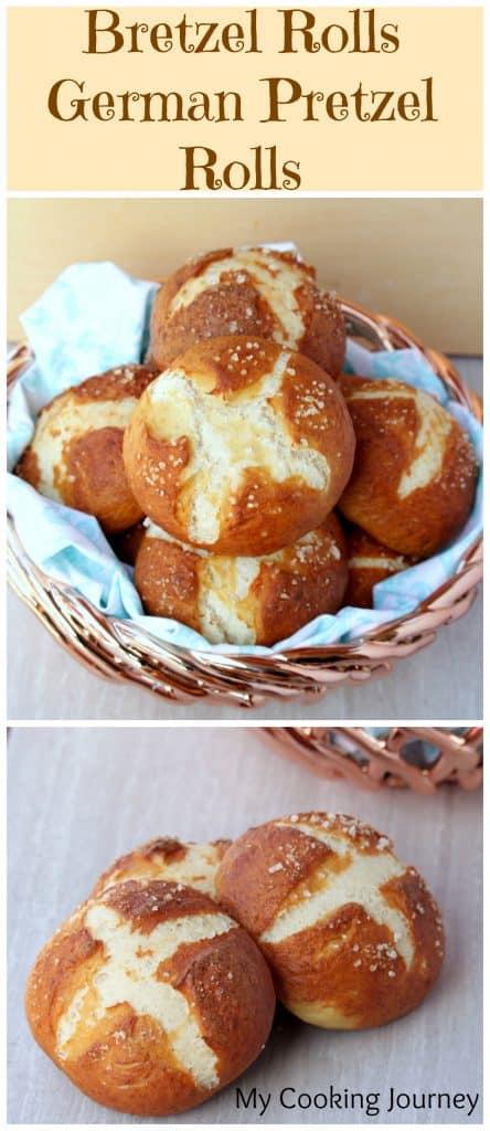 Bretzel Rolls | Deutsche Brezelbrötchen – Meine Kochreise  – Baking