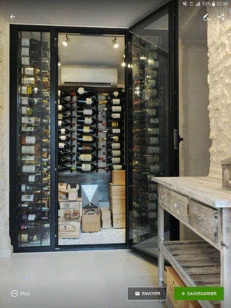 Cave A Vin Cave A Vin Etagere Bois Et Casier Vin