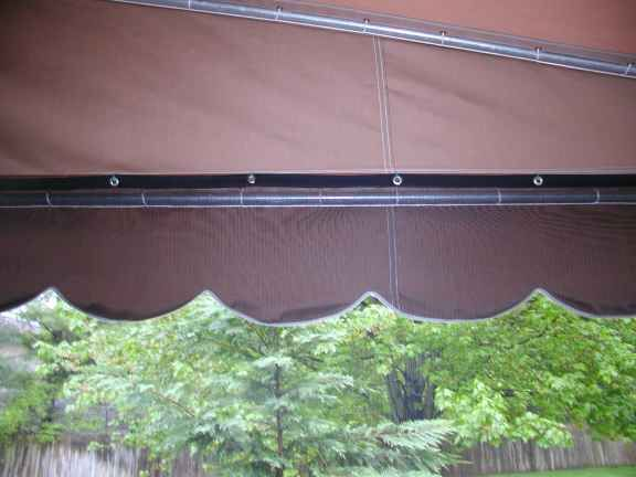 Awning Screen Enclosures | Mosquito netting patio, Patio ...