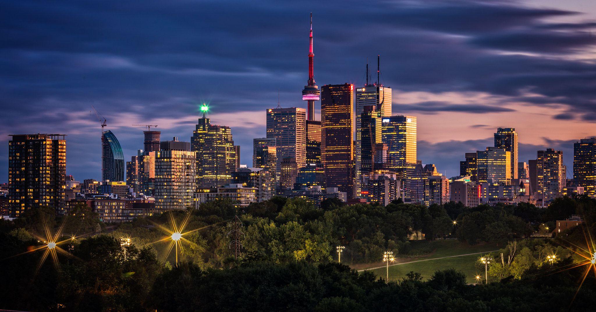 Toronto Skyline Riverdale Park East
