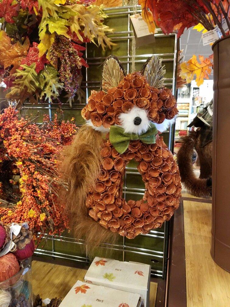 Fox Wreath At Pier 1 Wreaths Door Fo Garlands