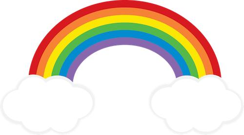Rainbow Cloud Clipart Freebie From Go Designs At Gradeonederfuldesigns Com Clip Art Freebies Rainbow Clipart Rainbow Painting