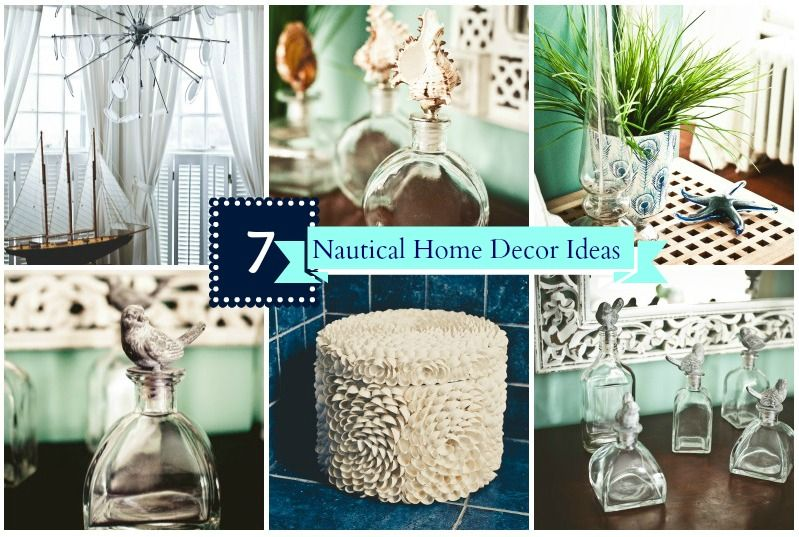Home decor 7 steps to the ultimate nautical themed room - Beach theme decor for living room ...