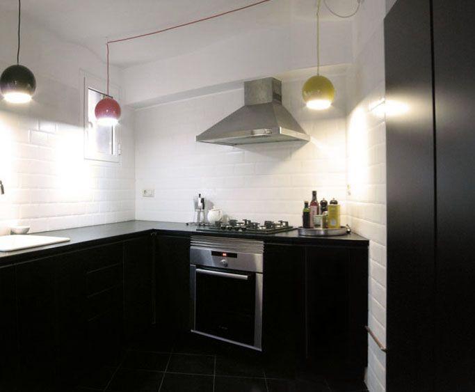 Bonito Mueble De Cocina Se Encarga De Negro Ideas - Ideas de ...