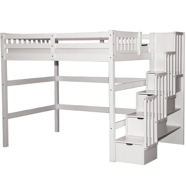 Lovely Full Size Loft Bed With Stairs Twin Loft Bed Loft Bed Plans