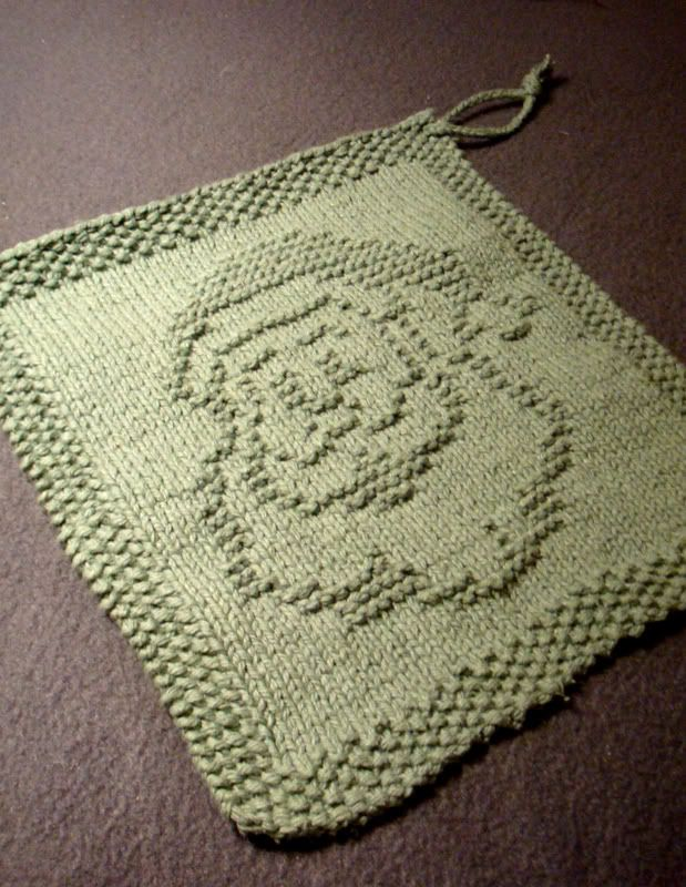 Dishcloth And Washcloth Knitting Patterns Pinterest Free Pattern