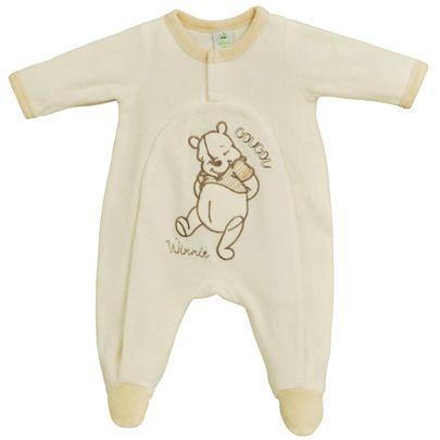 6d678548f1872 Dors bien velours Ecru Naissance de Disney Baby Pyjama Bébé Fille, Vêtements  De Nuit,