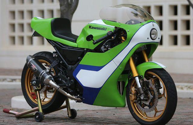 Gary Nixon Kawasaki H2 Race Bike Replica 300 Ninja Project