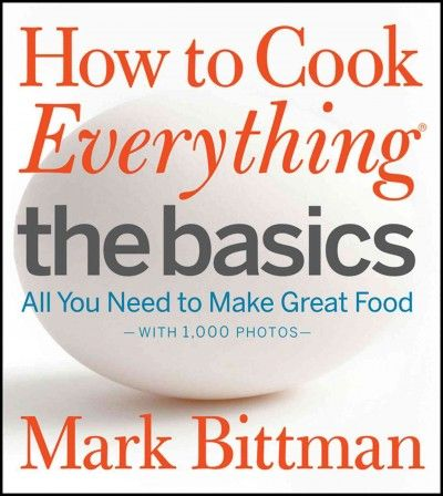 Presents fundamental cooking techniques while providing 171 recipes using basic staples and methods, covering everything from equipping a kitchen and stocking a pantry to making food selections and performing essential cooking tasks.