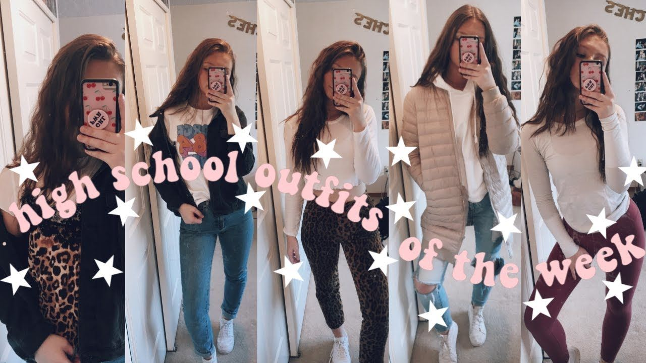 HIGH SCHOOL OUTFIT IDEAS (OOTW) - YouTube outfit ootw