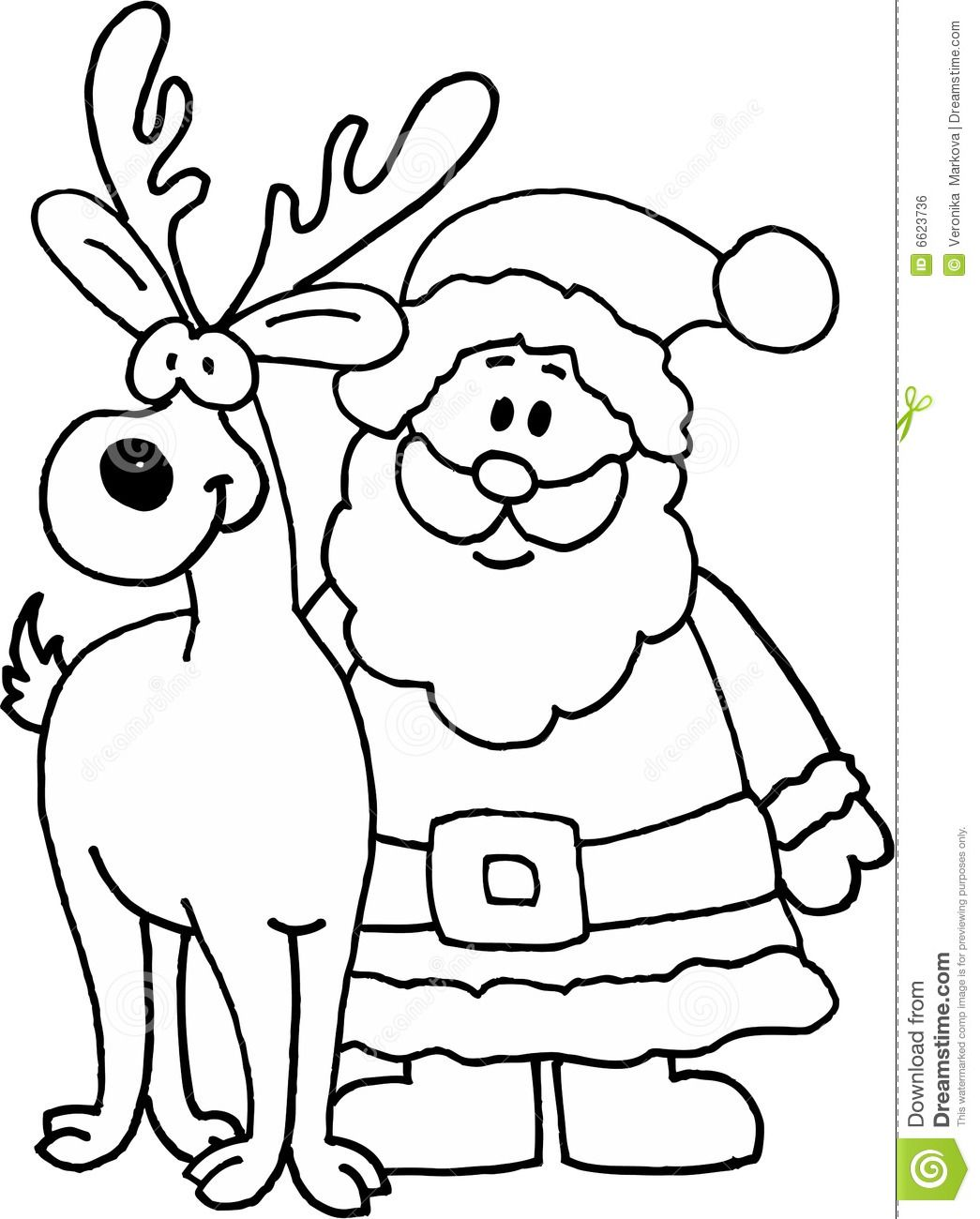 santa claus and reindeer drawings images pictures becuo reindeer drawing colorful flowers