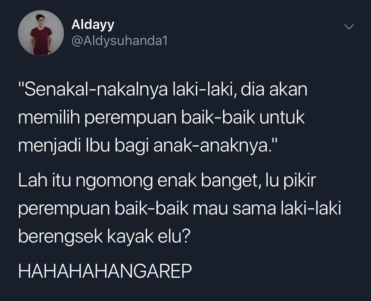 Nah Lo Buat Cowok Brengsek