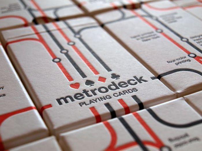 Metrodeck - The Dieline -