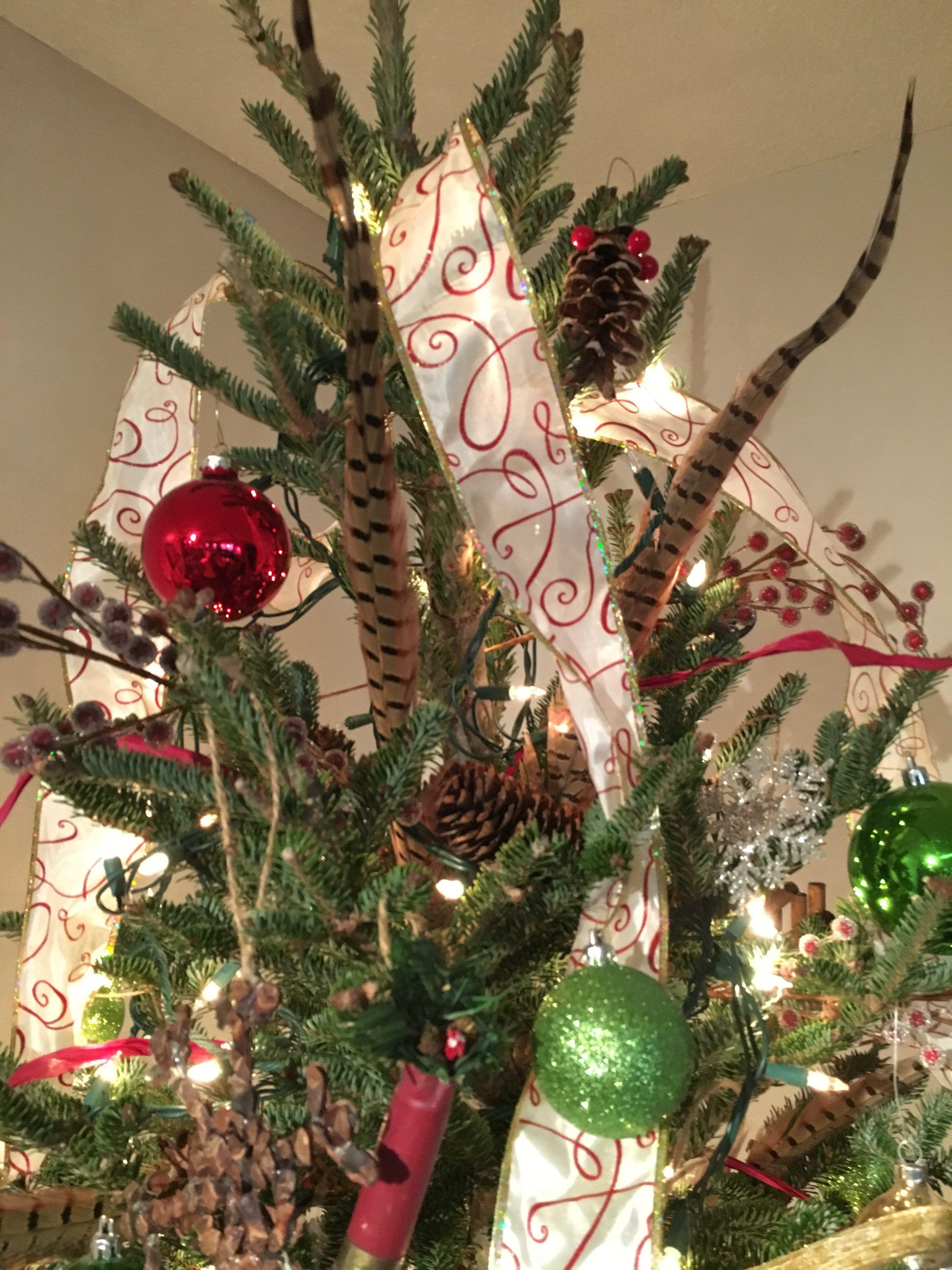 Farmhouse style Christmas decor Holidays Pinterest