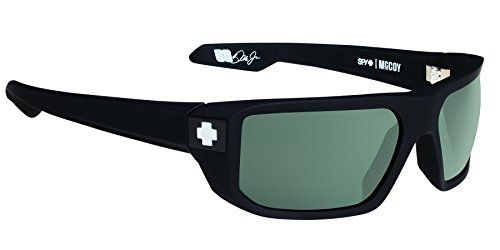 32ccb4a169 Spy Optic McCoy Flat Sunglasses Soft Matte BlackHappy GrayGreen 63 mm     Click image to review more details.Note It is affiliate link to Amazon.