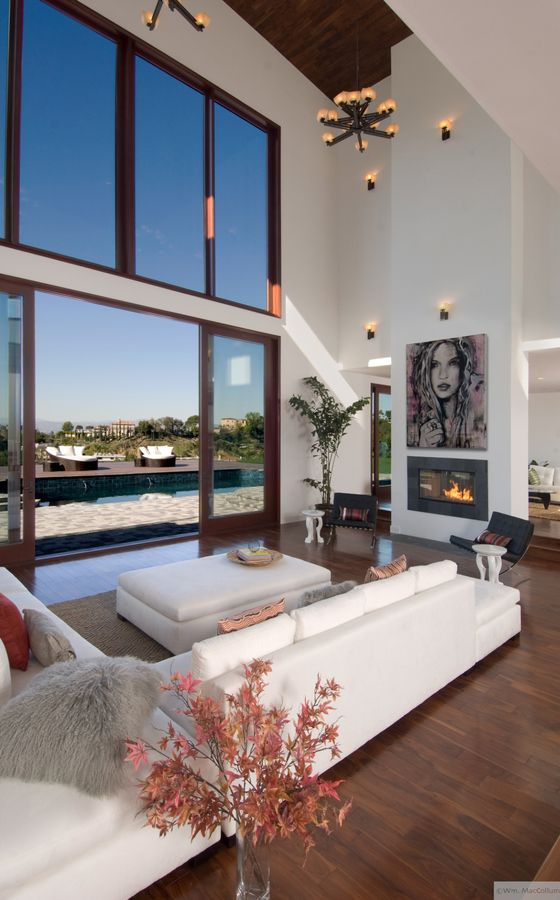 Beautiful Modern Living Room Pinterest: A Beautiful Modern Living Room Arrangement Allowing For