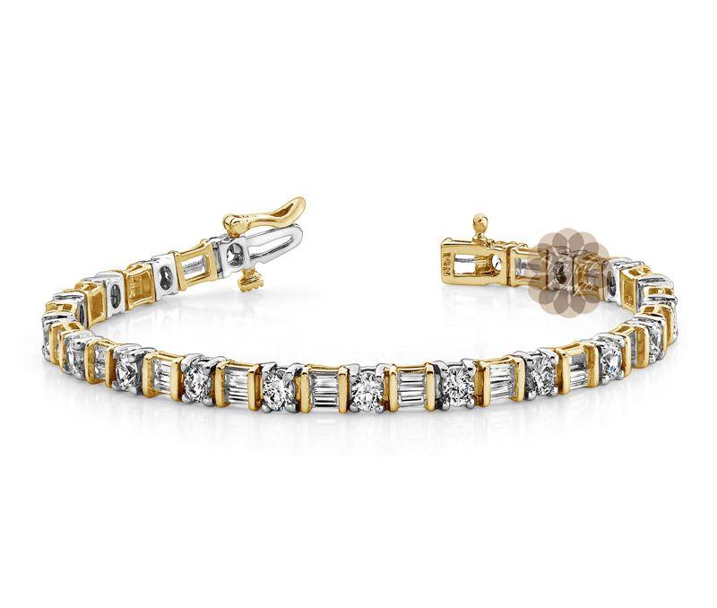 Vogue Crafts Designs Pvt Ltd manufactures Two Tone Gold Bracelet