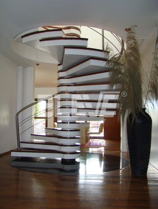 Spiral staircase modern casas escalera caracol - Escaleras de casas modernas ...