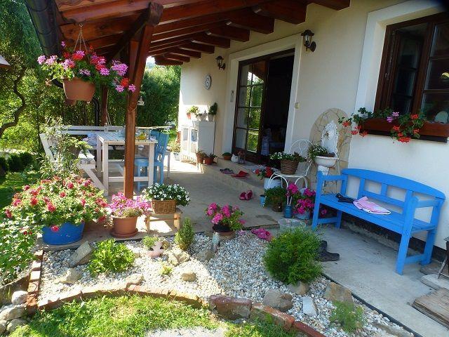 Terasa Front Garden Tulip Decor Outdoor Design