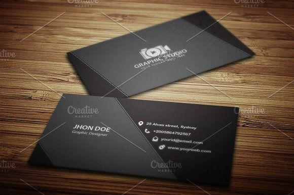 Dark black exclusive business card by jigsawlab on creativemarket dark black exclusive business card by jigsawlab on creativemarket colourmoves