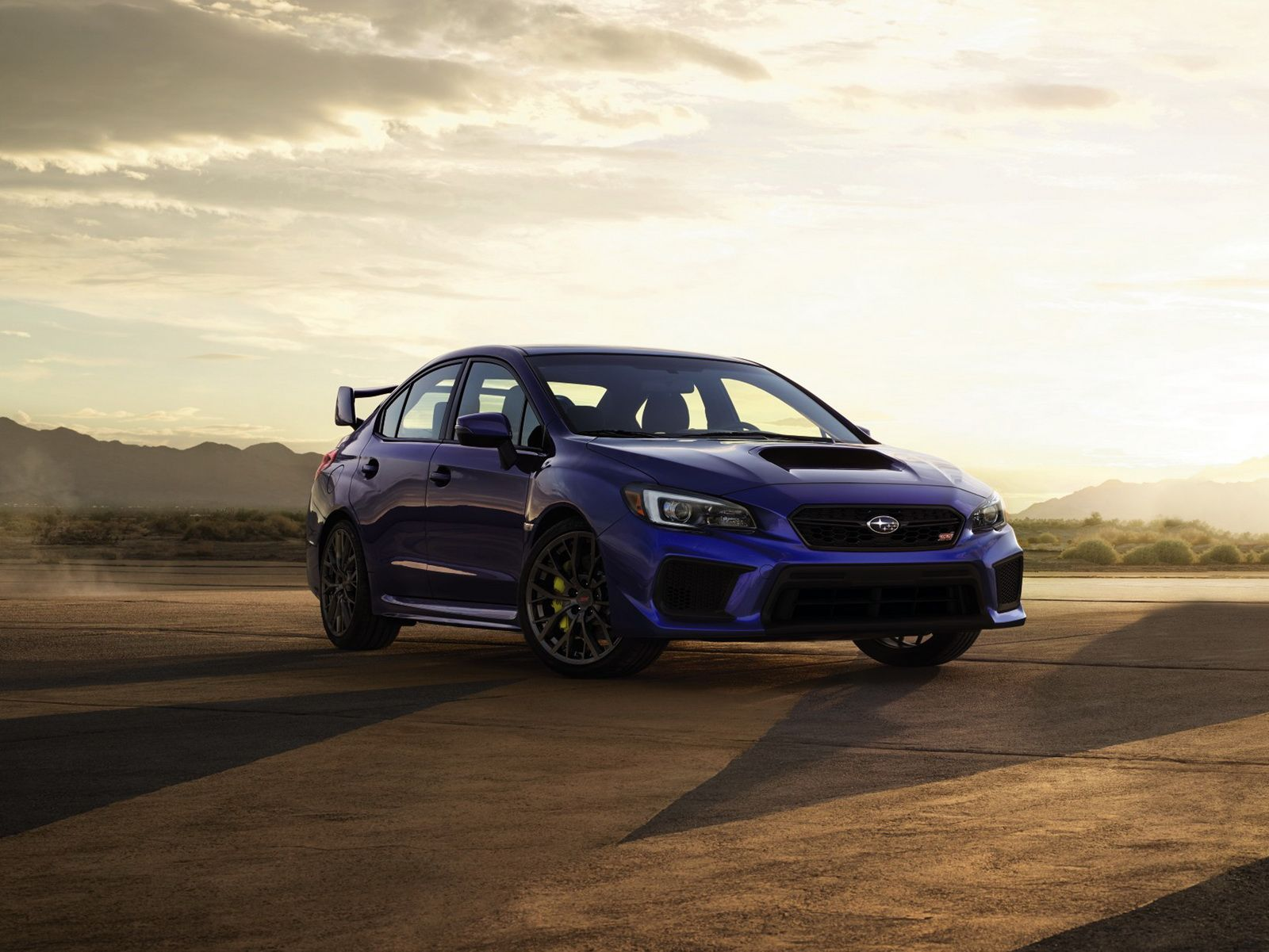 2018 subaru wrx wrx sti debut with styling revisions performance and safety upgrades