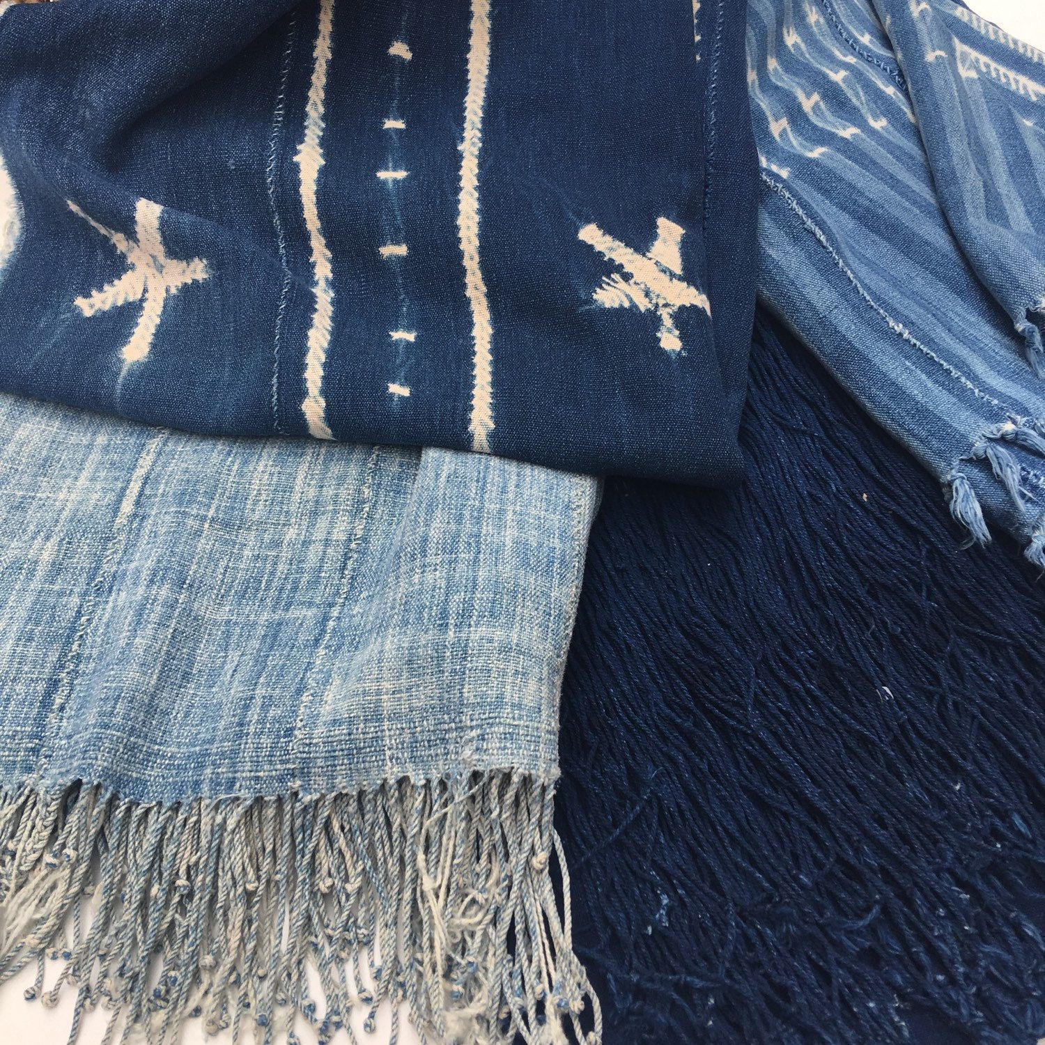 Indigo Mud Cloth, Vintage: New Arrivals all weekend long!