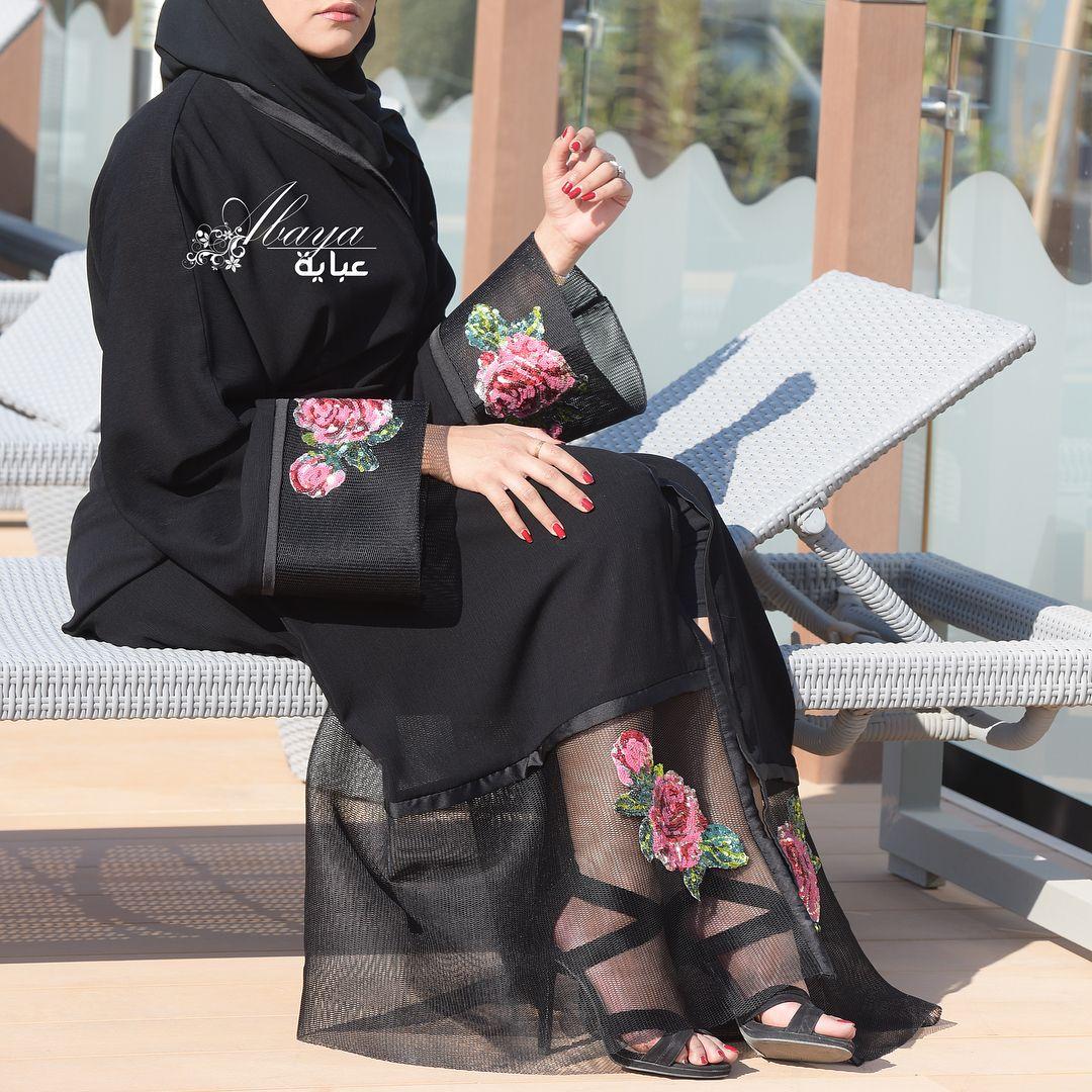 Pin By Farooque Ansari On Abaya In 2018 Pinterest Fashion Busana Muslim Layla Phasmina Pattern Black Modern