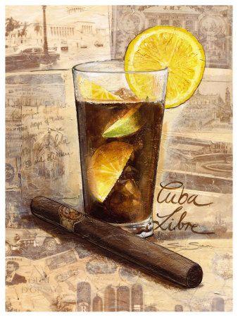 Cuba Libre | Cuba - posters | Cuba libre cocktail, Havana ...