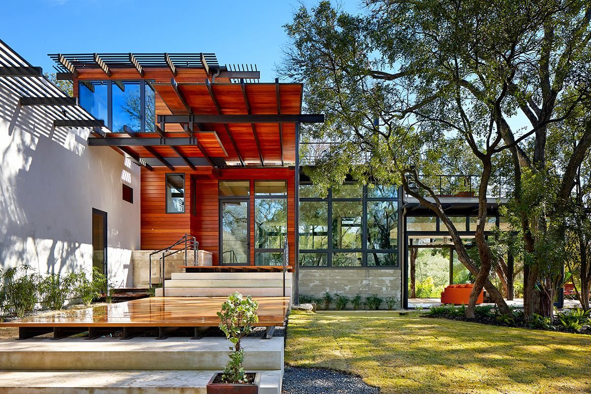 Architect and developer John Grable salvaged 45 percent of this 1948 house thanks to a conservation-minded client.