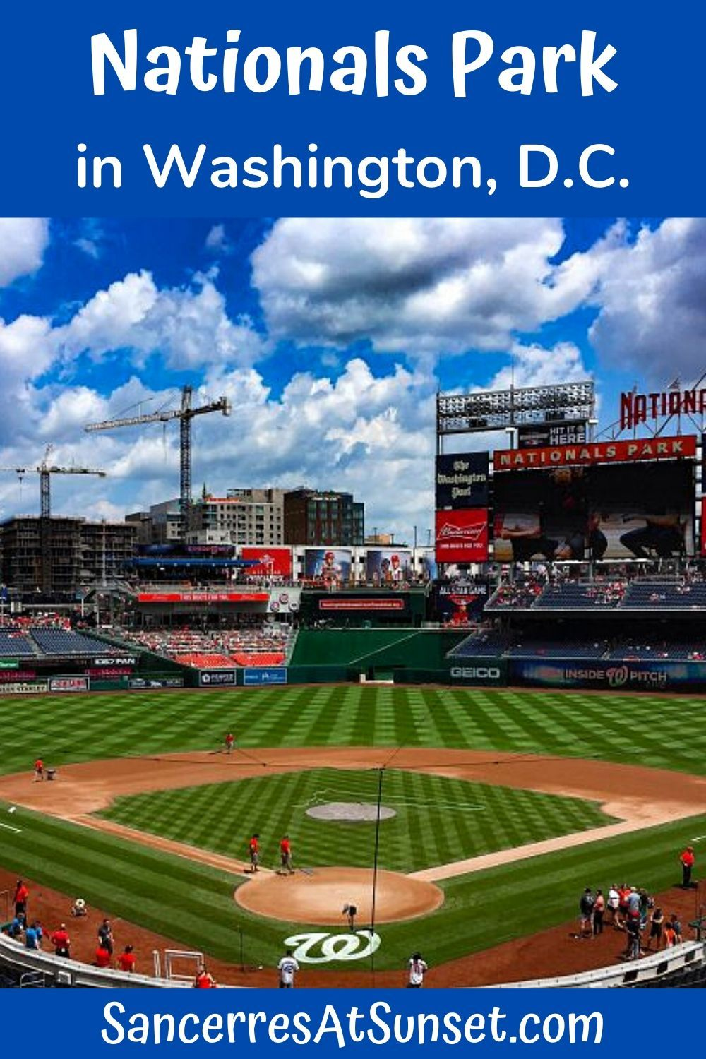 Tips For Visiting Nationals Park In Washington D C In 2020 Nationals Park Washington Travel Washington Hotel