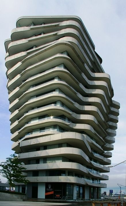 marco polo tower hamburg germany architecture. Black Bedroom Furniture Sets. Home Design Ideas